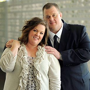 Billy Gardell and Melissa McCarthy  Love these two!!!