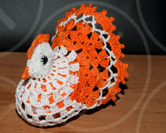 Easter hen  great decoration on the Easter by MagicAndCrochetHook