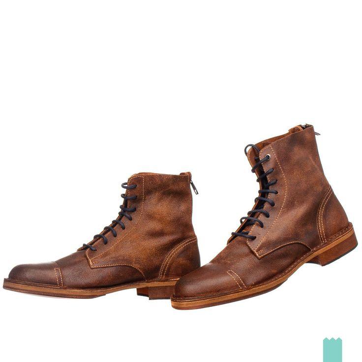 Ten Points Pandora Veg Tanned Cognac, Schuhe, Stiefel & Boots, Chelsea Boots, Braun, Female, 36