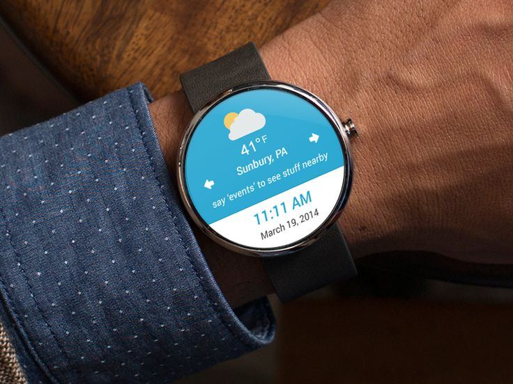 Android Wear - Weather Rebound