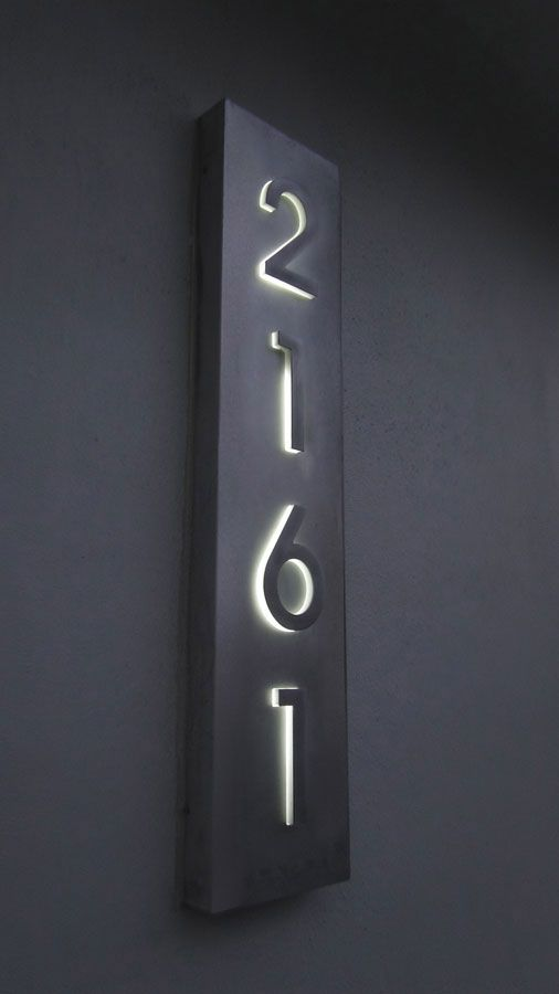 reverse channel letter numbers made by www.advancedmultisign.com