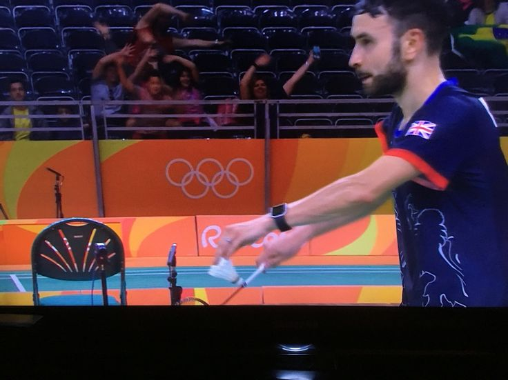 Chris Langridge team GB Rio 2016 in action
