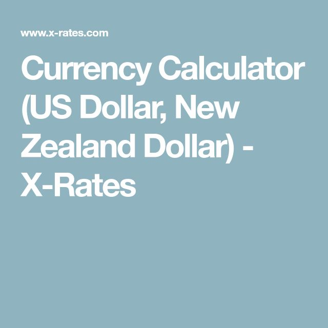 Currency Calculator (US Dollar, New Zealand Dollar) - X-Rates