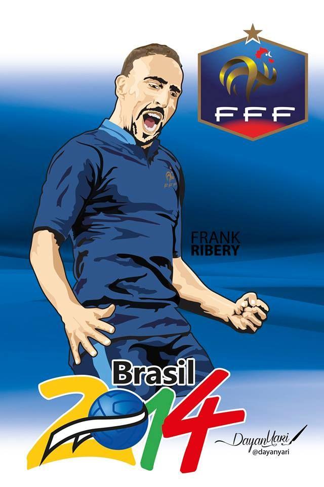 #Rivery #Francia #Brasil2014 #Ilustracion