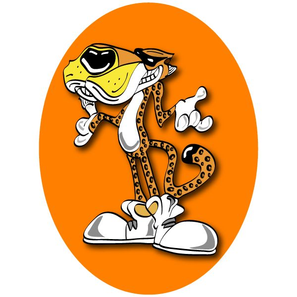 Vector Chester Cheetah Cartoon | Free Vectors | Pinterest ...