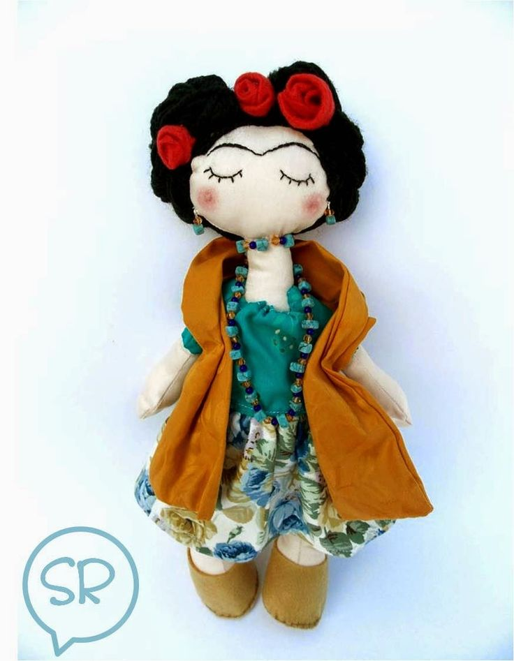 Sogni Risplendono: Frida doll.