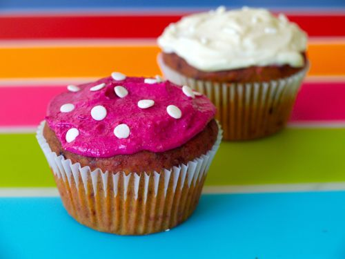 Red Beet Cupcakes | Weelicious