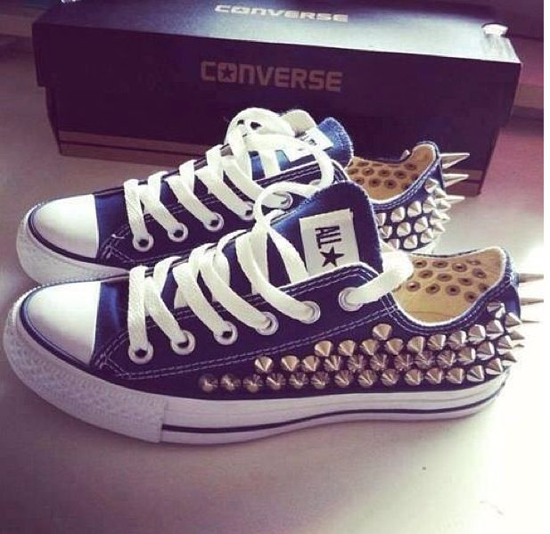 These Converse shoes are fierce!