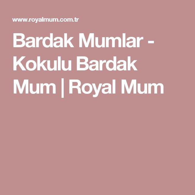 Bardak Mumlar - Kokulu Bardak Mum | Royal Mum
