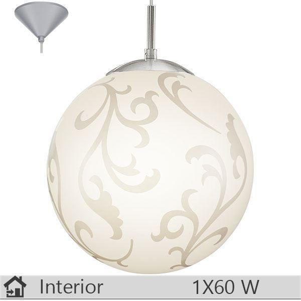 Pendul iluminat decorativ interior Eglo, gama Rebecca, model 90743 http://www.etbm.ro/eglo