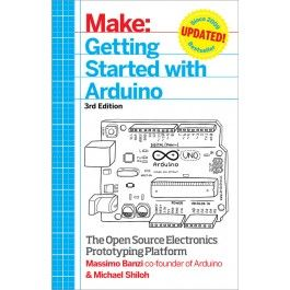 Getting Started with Arduino Book (paperback) (3rd Edition)