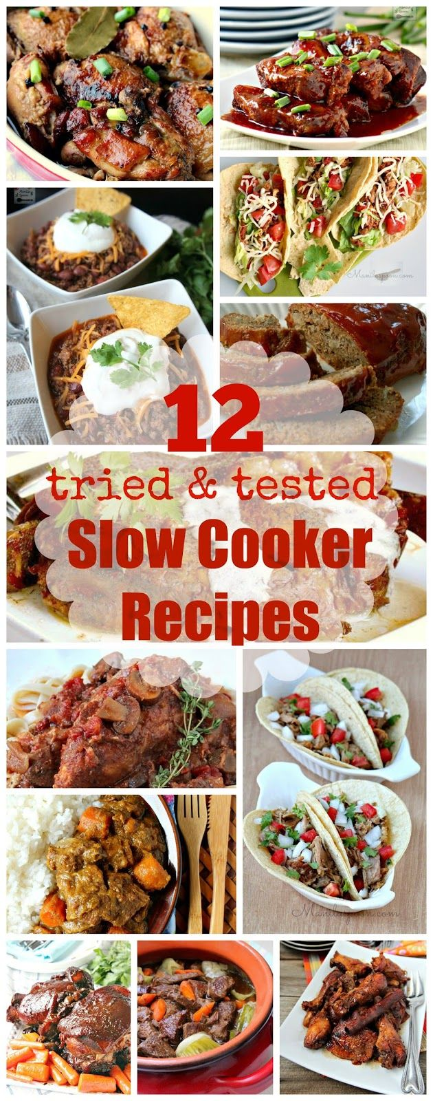 Over the years our family have enjoyed these 12 tried and tested, easy and delicious slow cooker dishes. We hope you all enjoy them, too! | manilaspoon.com