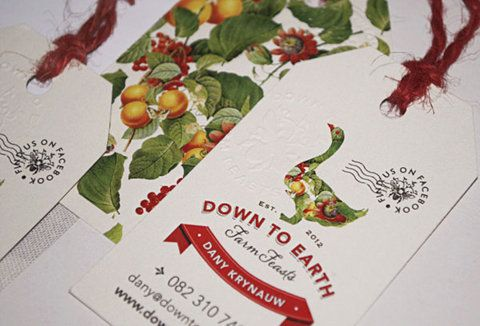 Down To Earth ~ Farm Feasts on Behance