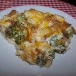 Low Carb Chicken Broccoli Casserole