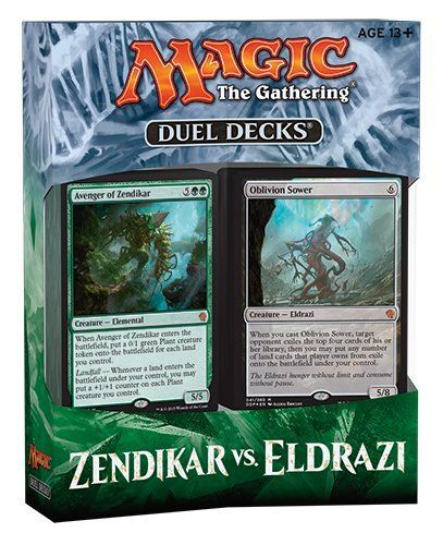 Buy MTG Magic the Gathering - Duel Decks: Zendikar vs. Eldrazi Sealed Now || Best Price || Made by Wizard of the Coast