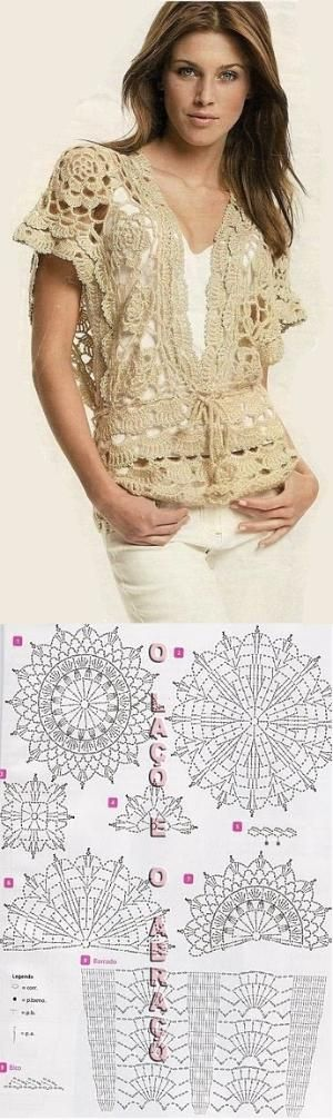 Summer tunic with graphs