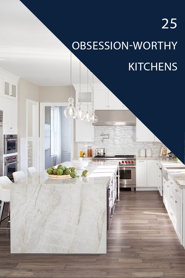 25 Luxury Kitchen Ideas For Your Dream Home Build Beautiful Kitchen Cabinets And Countertops Kitchen Remodel Small Home Decor Kitchen