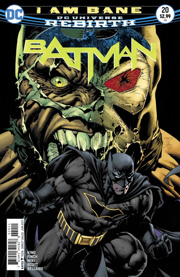 Batman #20 - I Am Bane Part Five (Issue)