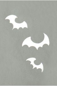 Stargazer - Tattoo Schablone - Fledermäuse