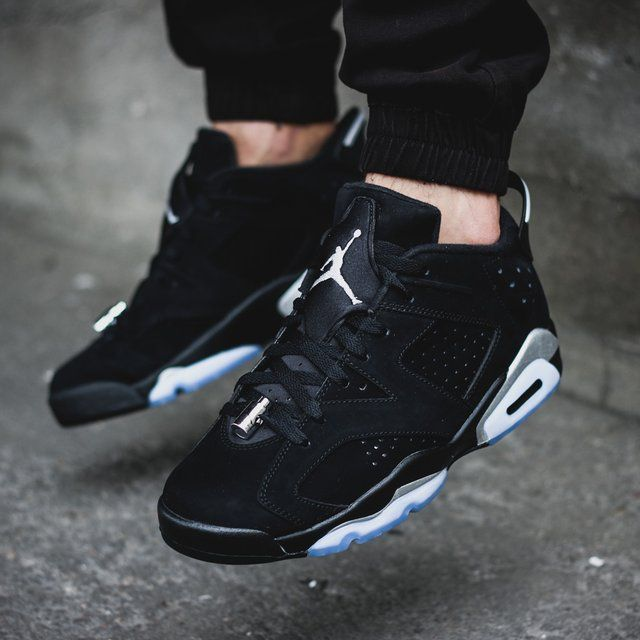 Air Jordan 6 Retro Low Chrome #Leather, #Retro, #Shoes