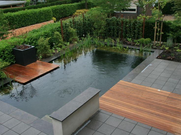 25 beste idee n over kleine achtertuin zwembaden op pinterest kleine zwembaden zwembaden - Deco terras zwembad ...