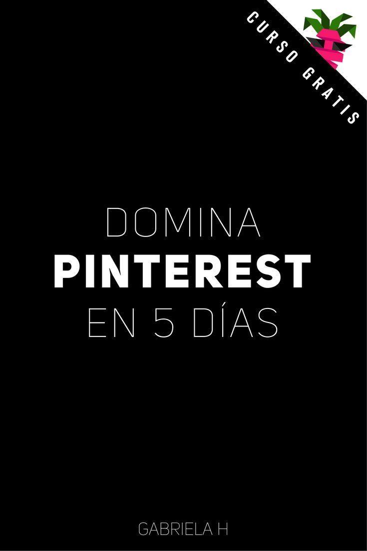 Curso de Pinterest para Principiantes!  Duplicá las visitas a tu Blog con Pinterest en 5 días