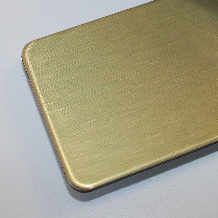 Dibond Aluminium-Verbundplatten erhältlich im Zuschnitt auf