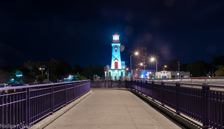 Lighthouse - Port Credit by Nadeem Wajahat, via 500px