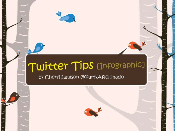 how-to-use-twitter-infographic by Cheryl  Lawson via Slideshare