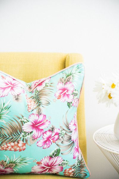 Hibiscus Honeymoon-Aqua