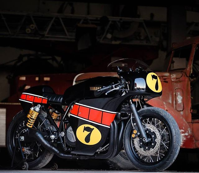 """#Yamaha #XJR1300 """"The Missing Piece"""" by #JigsawCustomMotorcycles"""