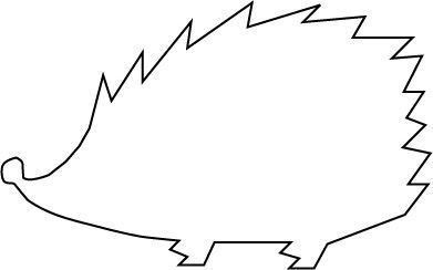 hedgehog template Google Search future projects