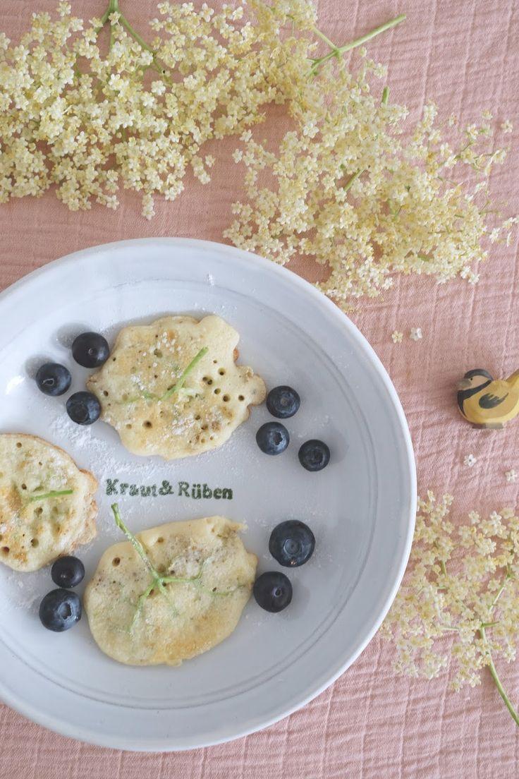 Hej Hanse: yummy elderflower pancakes