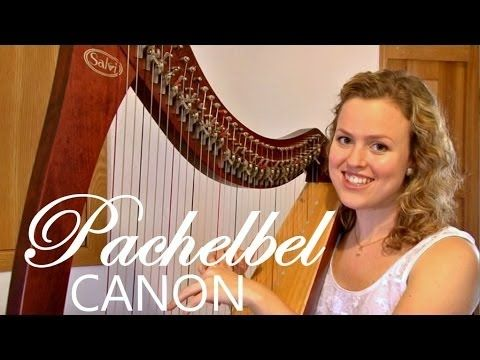 PERFECT wedding song! Pachelbel's Canon in D - wedding harpist (Christy-Lyn) Cape Town, South Africa