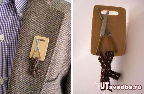 Оригинальные бутоньерки для жениха + Фото » Свадебный портал ТУТ СВАДЬБА