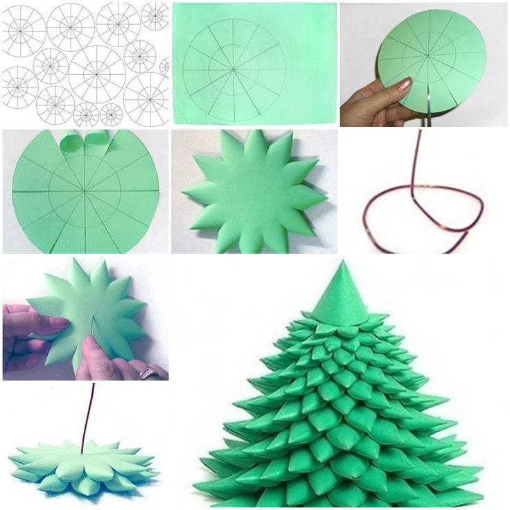 Christmas Decorations Made Out Of Paper Instructions : Best images about crafts on how to