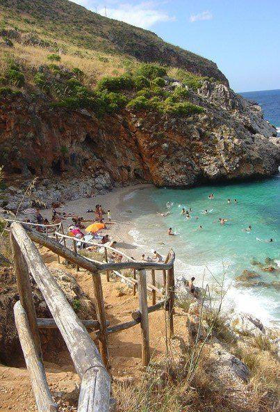 Laguna of Selenunte in Sicily. Amazing for snorkeling.