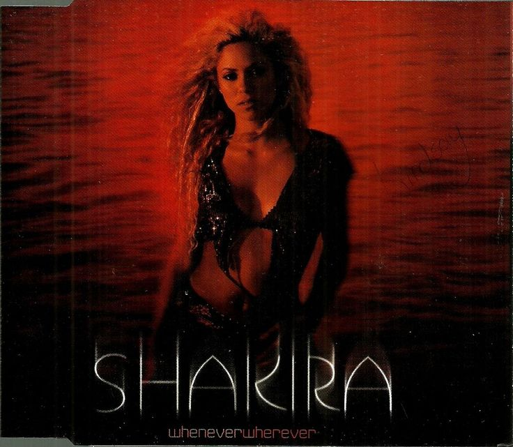#Shakira : Whenever, Wherever - South Africa Edition Single CD