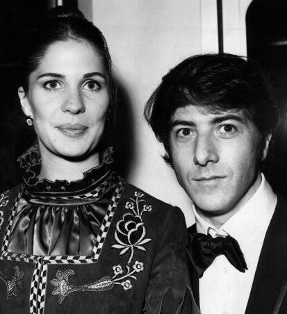 Dustin Hoffman with ex-wife Anne Byrne
