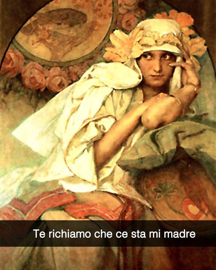 Snapchat: stefanoguerrera Musa - Aplhonse Mucha (1900 ca.) #seiquadripotesseroparlare #stefanoguerrera