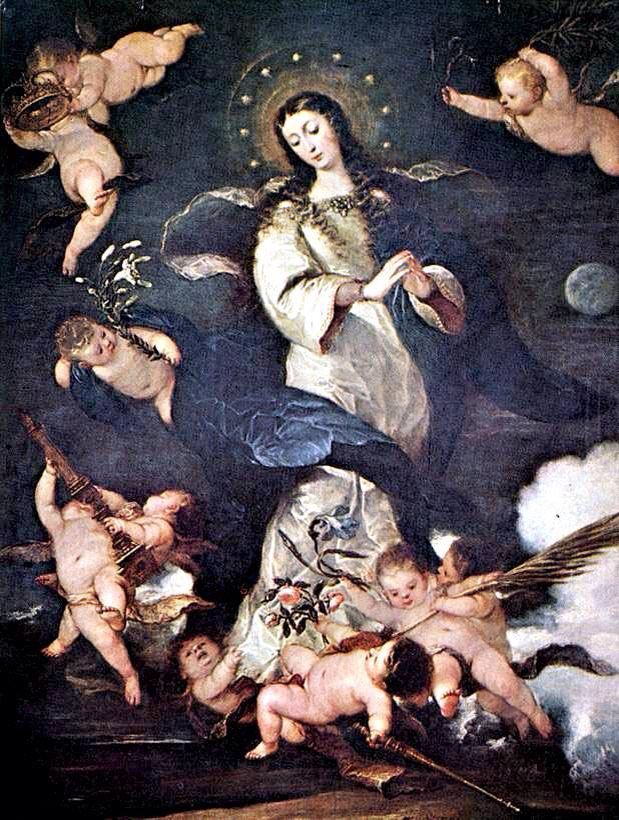 Mary and her little angels