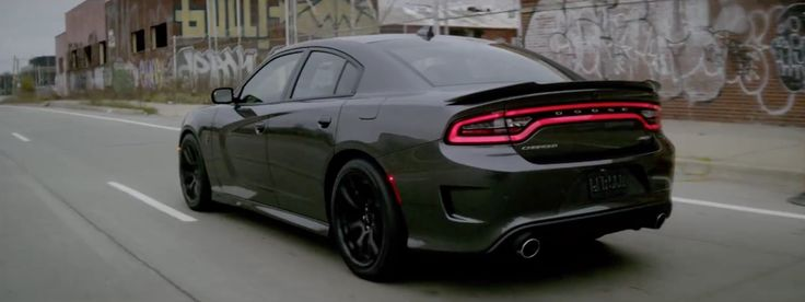 Dodge Charger SRT Hellcat (2015) car in GUTS OVER FEAR by Eminem (2014) @dodgeofficial