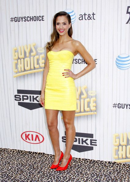 Jessica Alba Photos Photos - Jessica Alba at the 2013 Spike TV Guys Choice held at the Sony Pictures Studios in Culver City, Los Angeles. - Arrivals at Spike TV's 'Guys Choice' Event
