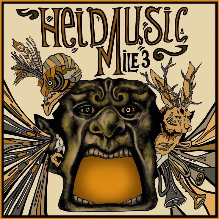 "Image of mile of music 3 poster ""heid music"""