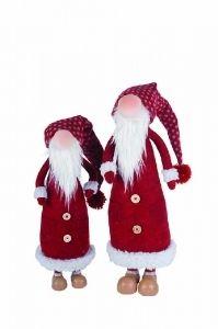 Joulupukki pehmo 60 cm (varpaista tupsuun 90 cm)