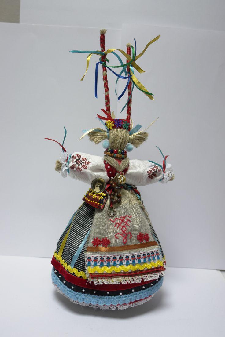 Кукла радости, веселья. Оберег хорошего настроения. «Коза»