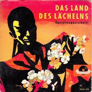 Franz Lehár - Das Land Des Lächelns - Querschnitt Durch Die Operette at Discogs