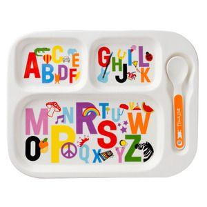Alphabet Porcelain Children's Tray