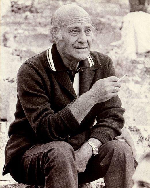 Nobel prize winner, the poet Odysseas Elytis