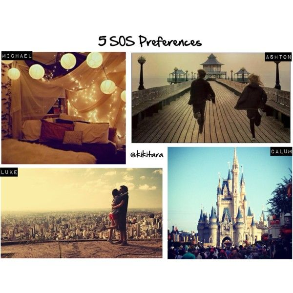 """""""5 SOS Preferences: Your Favorite Place on Earth"""" by kikitara on Polyvore"""